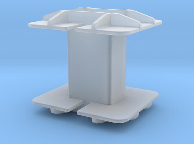 "Coil bobbin EI375 - 1/4"" Lamination Stack 3d printed"