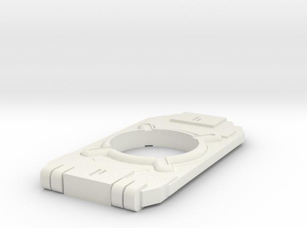 Halo 4 AI Chip in White Natural Versatile Plastic