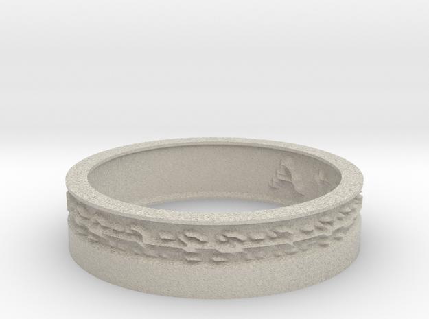by kelecrea, engraved: A text 3d printed