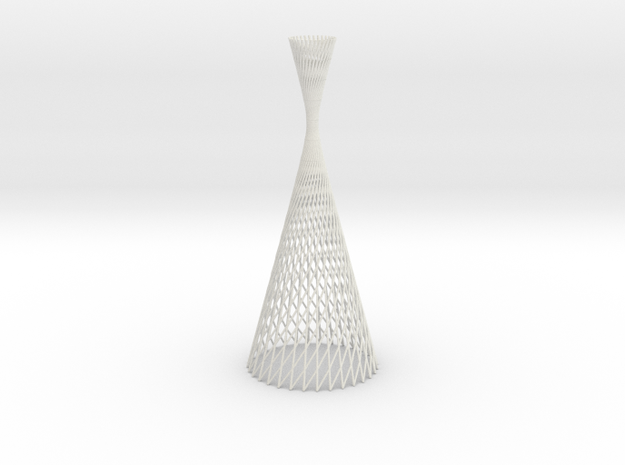lightform |hyperboloid revolution | in White Strong & Flexible