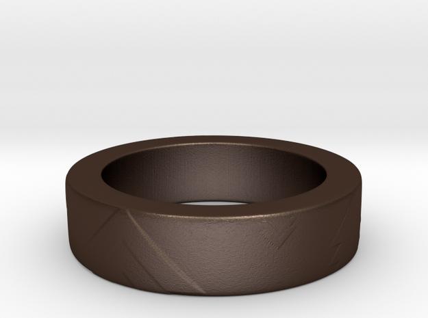 Men's Size 10 US Arrow Ring 3d printed