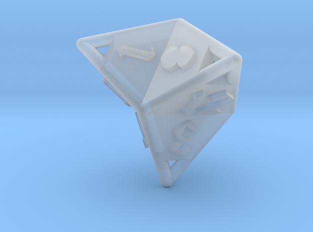 d12 caltrop 3d printed
