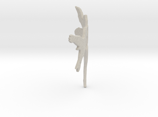 Fairy Thumbnail Applique Sandstone 3d printed
