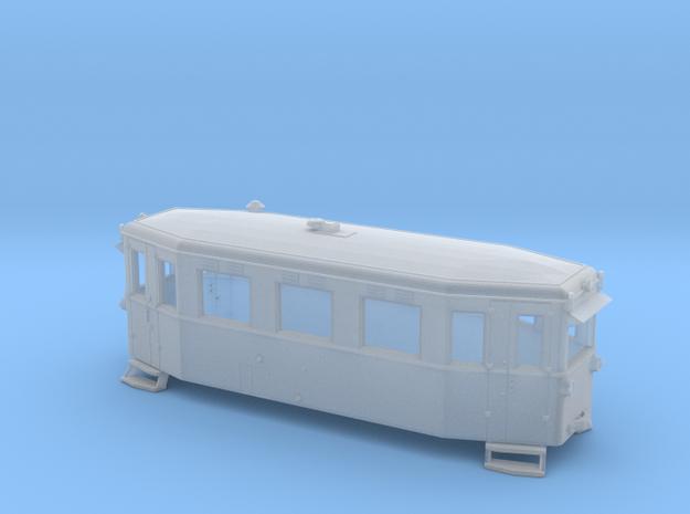Schmalspurtriebwagen T1 der HSB (1:120) in Smooth Fine Detail Plastic