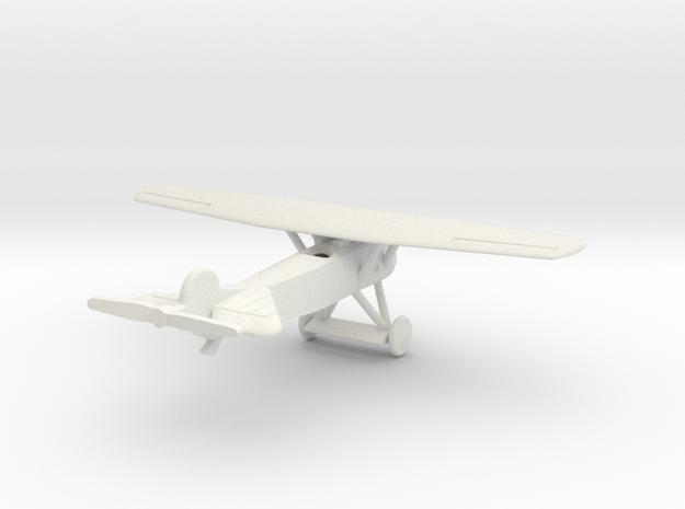 1/144 Fokker E.V in White Natural Versatile Plastic