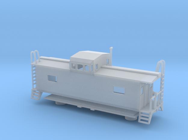 Monon Caboose - Nscale 3d printed