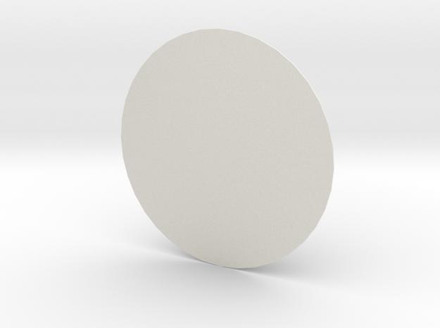 New 18 inch sensor dome in White Natural Versatile Plastic