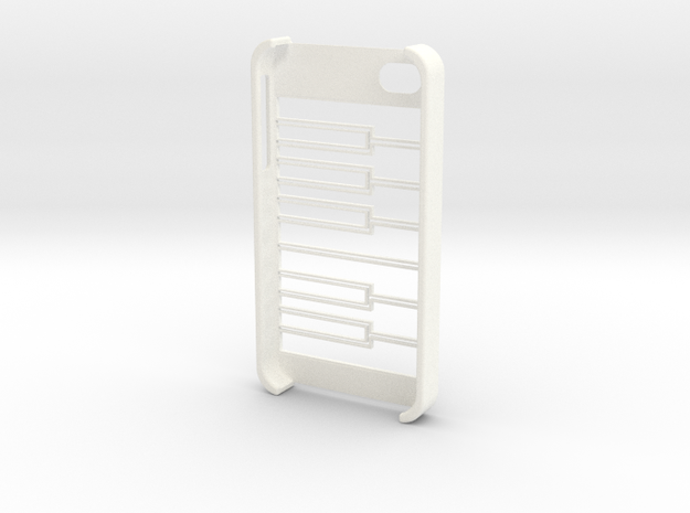 iPhone 4/4S Piano Case 3d printed