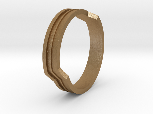 Channel Ring 3d printed