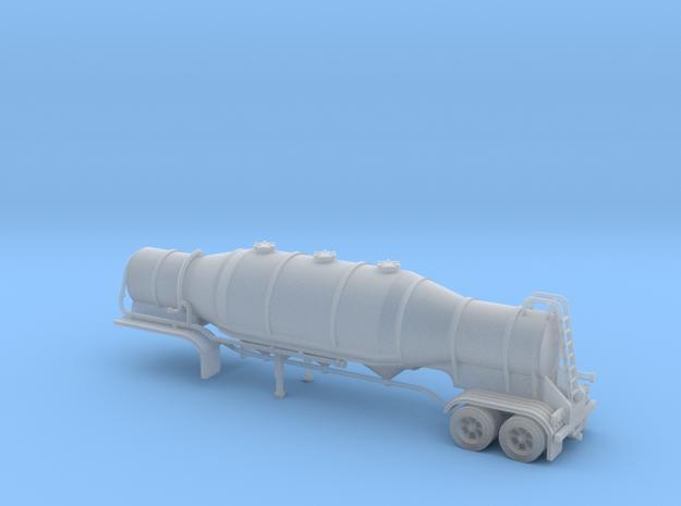 N scale 1/160 Dry Bulk 1000 Trailer 08b  in Smooth Fine Detail Plastic