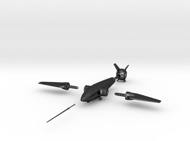Hummingbird Spaceship Toy 3d printed