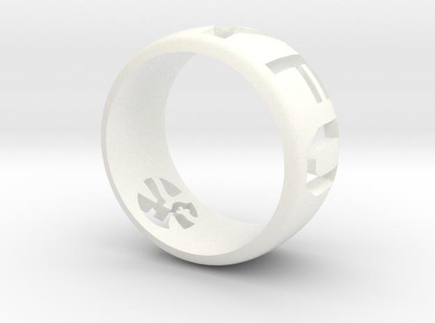 YFU Ring Cut Out 3d printed