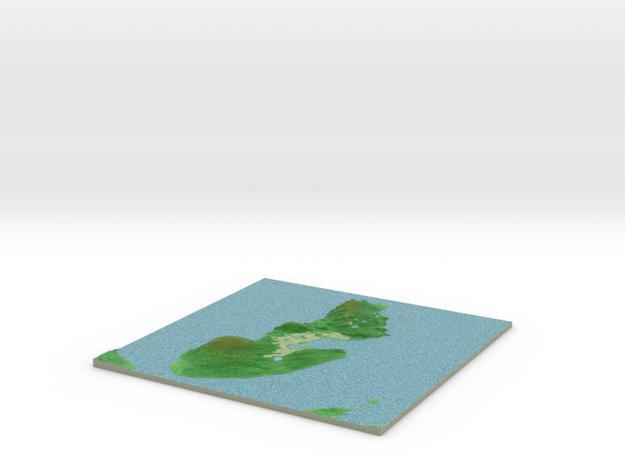 Terrafab generated model Wed Jan 22 2014 21:39:13 3d printed