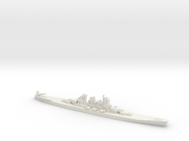 1/2400 Scale Never Were IJN 14500t Cruiser in White Strong & Flexible