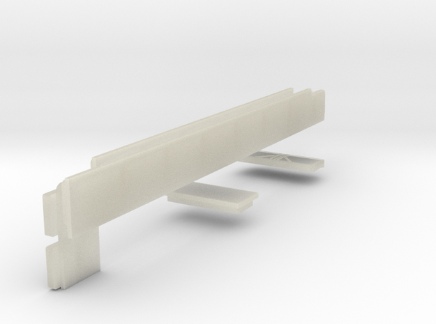 Windows for Volvo B10M bus 2-0-2 Odense 3d printed
