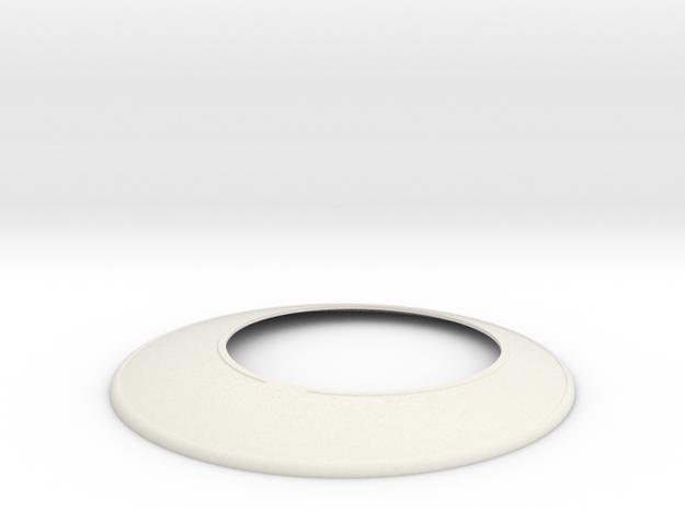 Marathon Disk: Display Edition in White Natural Versatile Plastic