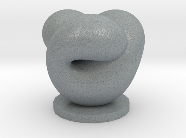 Boy's Surface On Base 3d printed