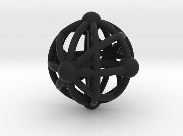 Sphere Pendant 3d printed