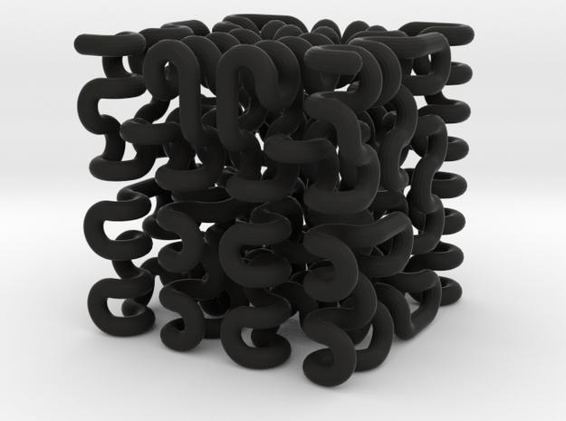 3rd Order 3D Hilbert Curve 3d printed