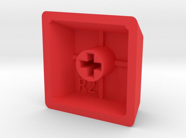 Blank Keycap (R2, 1x1) 3d printed