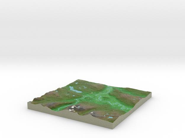 Terrafab generated model Fri Jan 24 2014 15:12:04 3d printed