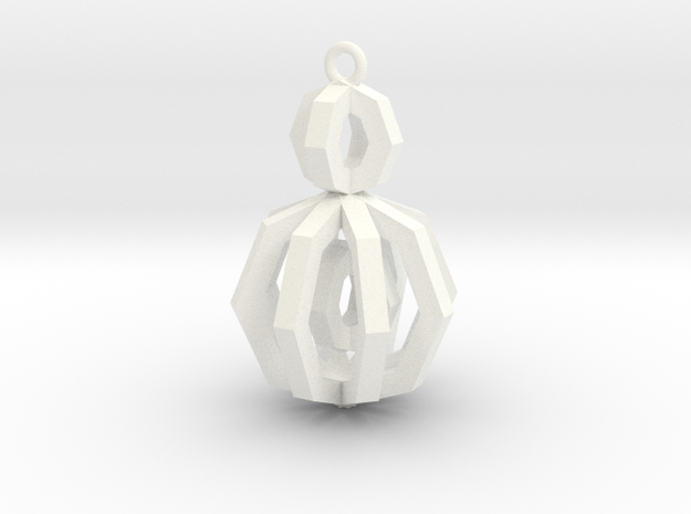 Ngon with Moving parts - Necklace Collection 3d printed