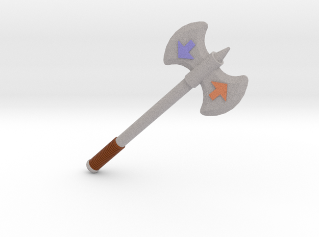 Ban Axe in Full Color Sandstone