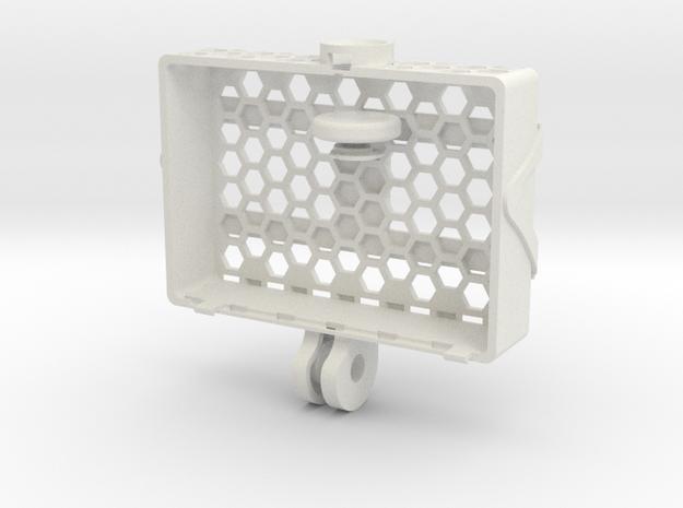 Lightweight case for GoPro camera in White Natural Versatile Plastic