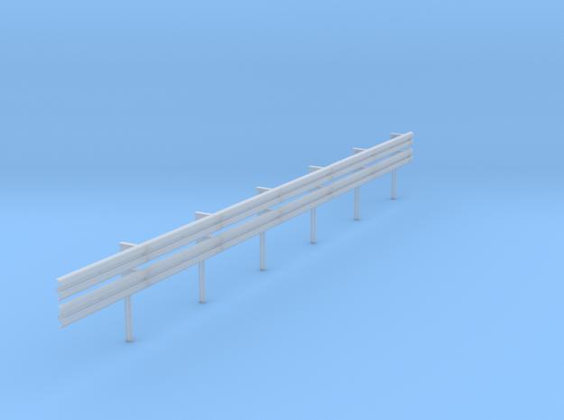 01.001.210_Schutzleitplanke doppelt für Übergangve in Smooth Fine Detail Plastic