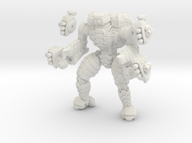 Mech suit with missile pods (10) 3d printed