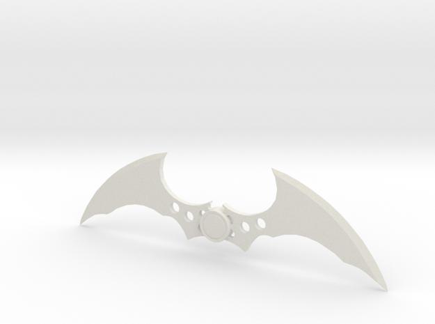 Arkham Batarang in White Strong & Flexible