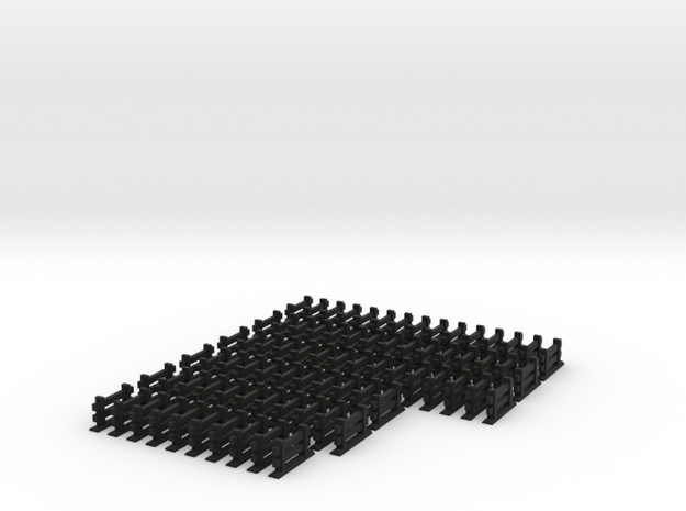 Agricola Fences, set of 77 3d printed