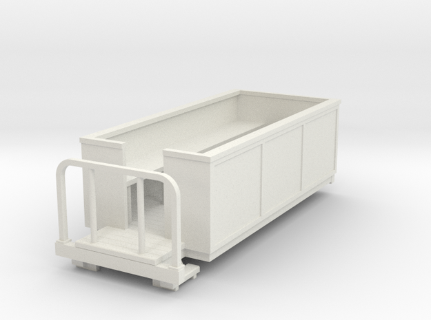 Sn2 Open coach in White Natural Versatile Plastic