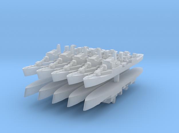 Commandante Riviera B 1:6000 x10 3d printed