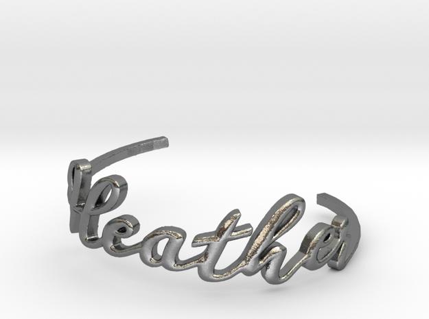 Heather Bracelet in Polished Silver