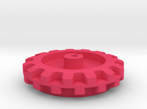 Pololu 15 Cog Wheel For Motor 3d printed