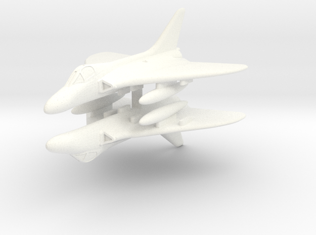 1/300 Douglas Skyray in White Strong & Flexible Polished