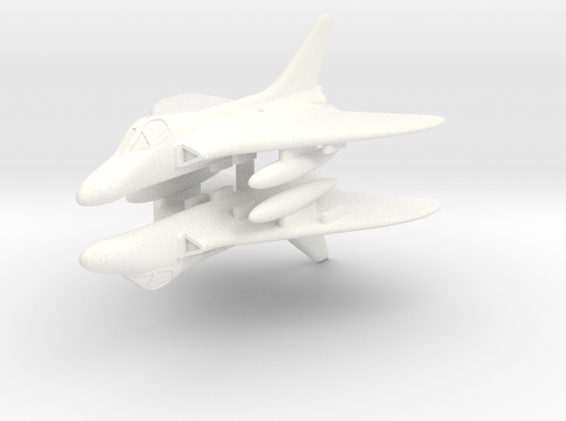 1/285 (6mm) Douglas Skyray in White Processed Versatile Plastic