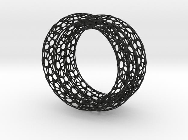 3 Mesh bracelets 3d printed