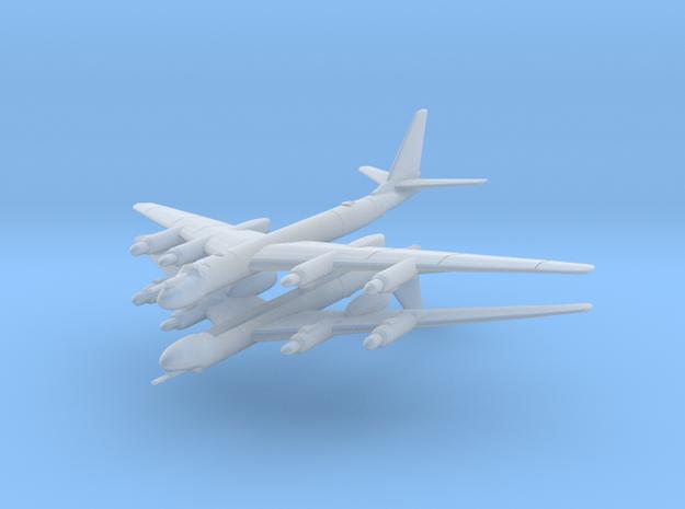 Tu-95 1:600 x2 in Smooth Fine Detail Plastic