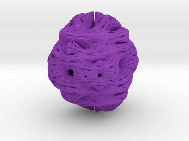 Juliabulb z^2 x=031 new in Purple Processed Versatile Plastic