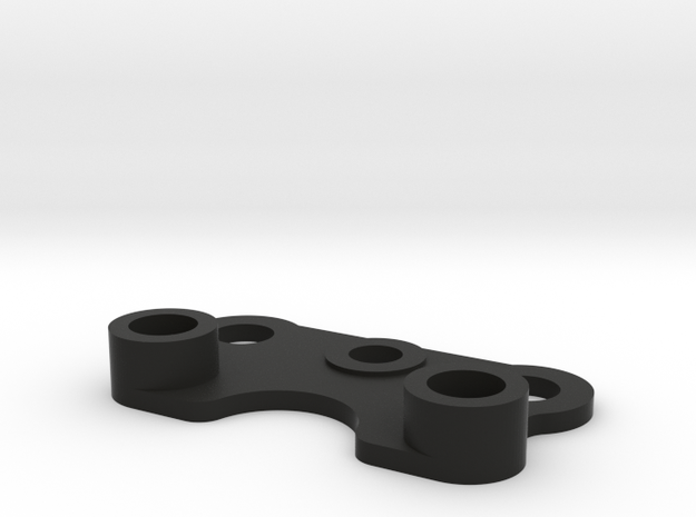 C2-battery Retainer, M02 Chassis in Black Natural Versatile Plastic