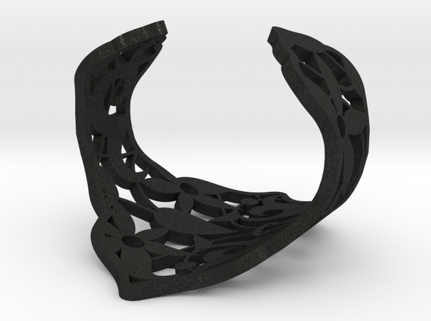 Alhambra cuff bracelet by The Decahedralist 3d printed