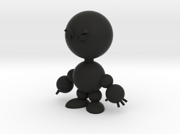 Todd (angry) 3d printed