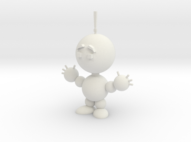 Todd (scared) 3d printed