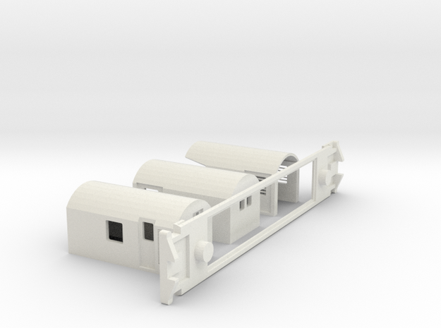 AG Capital Connection, NZ, (S Scale, 1:64) in White Natural Versatile Plastic