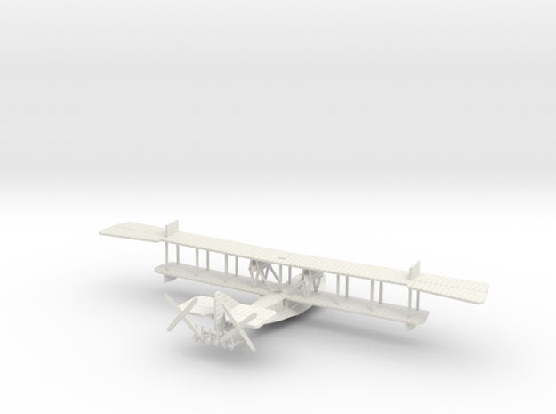 Felixstowe F.2a late version 1/144th scale in White Natural Versatile Plastic