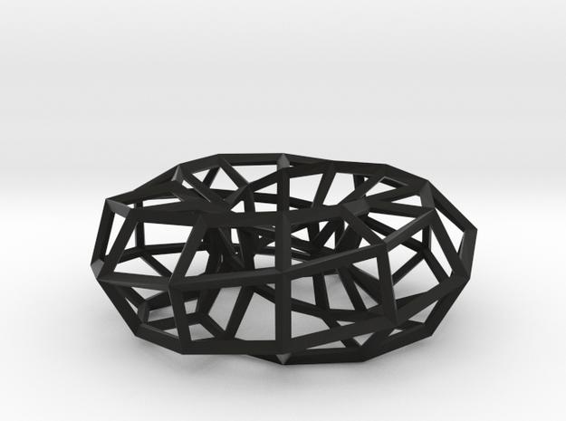 Hexagonal Torus (Wireframe) 3d printed