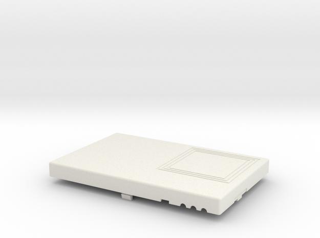 BT RFID Reader v1 2 Top in White Natural Versatile Plastic