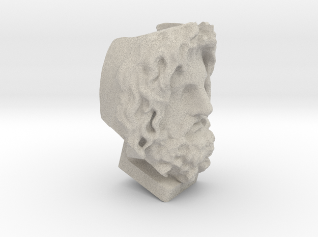 Head Of Serapis - 3D Selfie in Sandstone